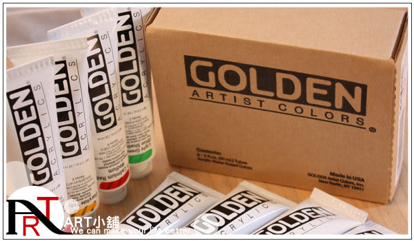 『ART小舖』美國原裝GOLDEN Artist Colors!Heavy Body重稠系列!專家級壓克力顏料!珠光色S7!59ml 自選色