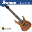 【小麥老師樂器館】免運費 全新 公司貨 Ibanez RG421 電吉他 吉他 原廠 木紋 原木色 經典 RG 桃花木
