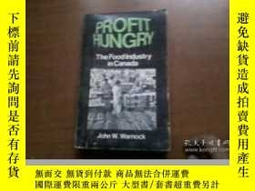 二手書博民逛書店PROFIT罕見HUNGRY The Food Industy