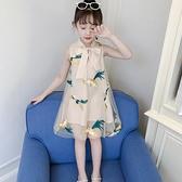 女童洋裝 漢服女童夏裝連身裙中國風兒童裝公主旗袍裙子小女孩衣服-Ballet朵朵
