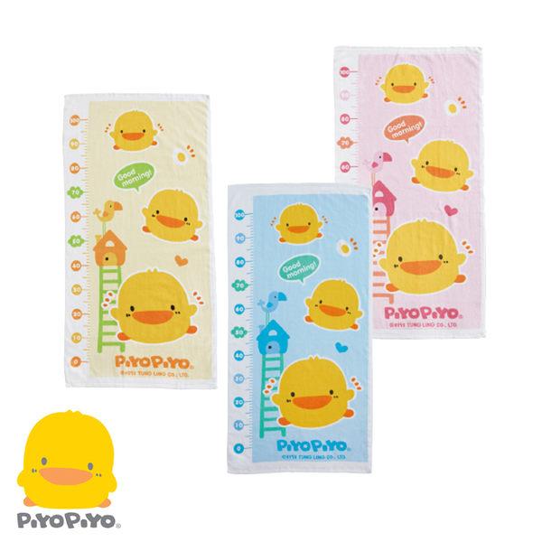 黃色小鴨 身高圖兩用巾