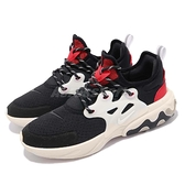 Nike 休閒鞋 React Presto GS 黑 紅 低筒 魚骨鞋 運動鞋 女鞋【ACS】 BQ4002-003