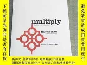 二手書博民逛書店multiply:罕見discipes making disciples(倍增:鐵餅做門徒)平裝 庫存Y631