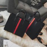 大包包女包大容量手提包時尚百搭單肩斜背包 韓語空間
