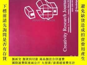 二手書博民逛書店Creativity罕見Research Journal 01-03 2011創意研究藝術設計學術Y14610