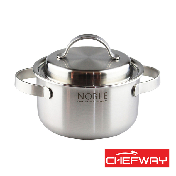 韓國 CHEFWAY 諾貝系列不銹鋼湯鍋16cm