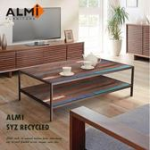 ALMI SYZ RECYCLED-120x70 2 LEVELS 咖啡桌