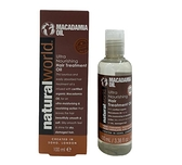 英國製造 Natural World 澳洲堅果油款 超保濕 滋養護髮油 100ml (Macadamia Oil)
