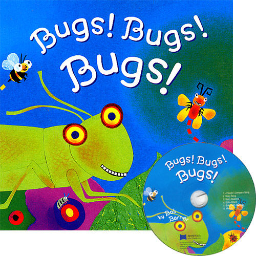 【麥克書店】BUGS! BUGS! BUGS!  /英文繪本+CD
