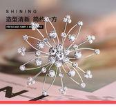 歐美簡約氣質個性胸針日韓風格創意雪花胸花女別針潮飾品 都市韓衣