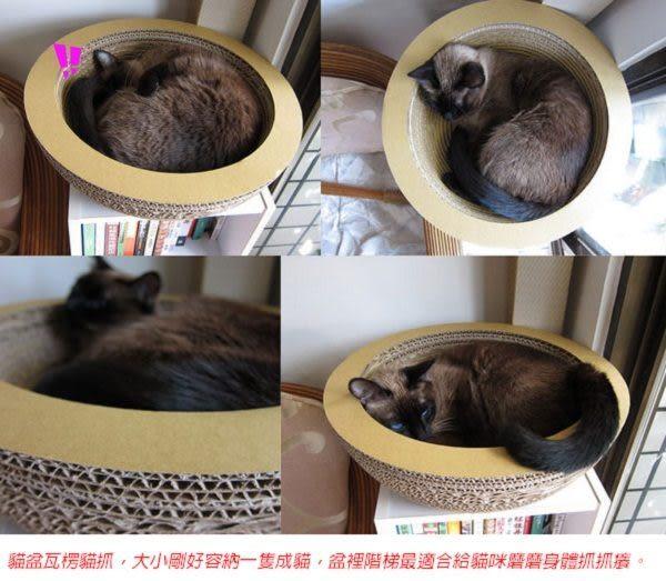 ★國際貓家★Box Meow~貓盆貓抓板(B6,新品免運)