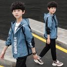 男童風衣外套春秋款2020年款中大童6洋氣中長款兒童8歲男孩春裝潮漾 美眉新品