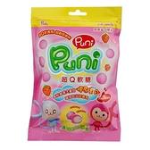 PUNIPUNI超Q草莓軟糖家庭號65g【愛買】