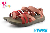 TEVA Sanborn 女涼鞋 織帶運動涼鞋 I6818#橘色◆OSOME奧森童鞋