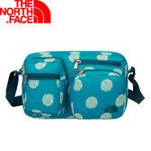 【The North Face 13L 校園側背包/青藍圓點   】 NF00CF41/側背包/小包/休閒背包★滿額送