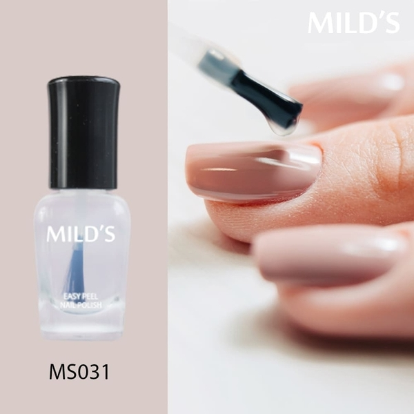《MILD'S曼思》水性可剝2in1護甲油─護甲油MS031