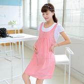 孕婦裝/短袖新款中長款洋裝【歐洲站】