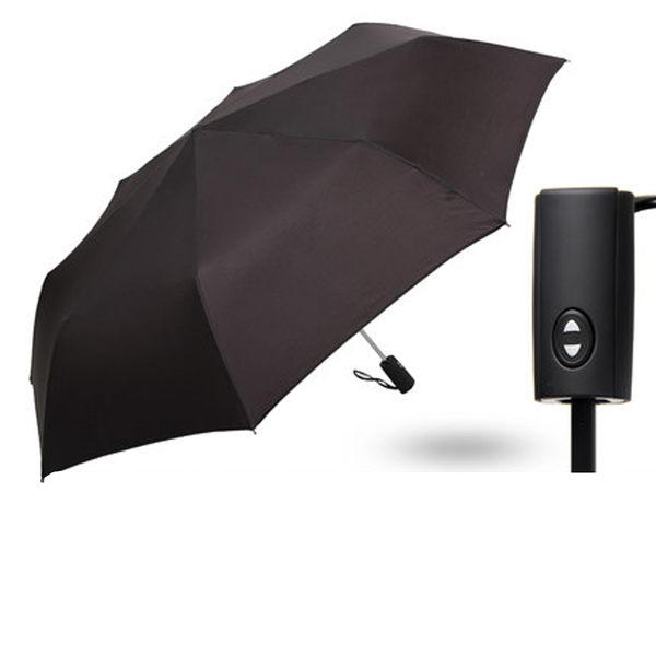PUSH! 好聚好傘,一鍵開收全自動傘雨傘遮陽傘晴雨傘三摺傘折疊傘(125CM)I63