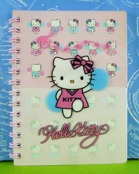 【震撼精品百貨】Hello Kitty 凱蒂貓~2段式memo本~啦啦隊【共1款】