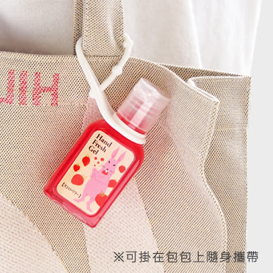 CHARLEY 香氛乾洗手凝膠 (草莓/檸檬/蘋果/玫瑰/櫻花) 30ml  ◇iKIREI