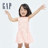 Gap嬰兒 Gap x Disney 迪士尼系列洋裝套裝 682703-淺粉色