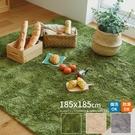 地墊 地毯 防滑地墊【S0078】簡約素色方形止滑地毯185X185CM(三色) 完美主義