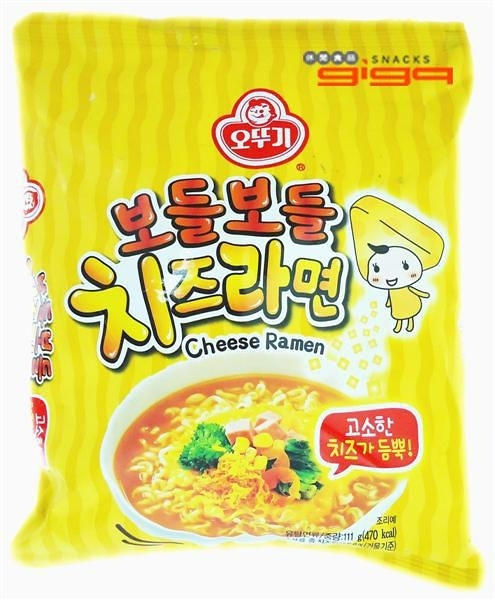 【吉嘉食品】韓國OTTOGI 不倒翁 起司拉麵/泡麵 1包111公克 {8801045524672}[#1]