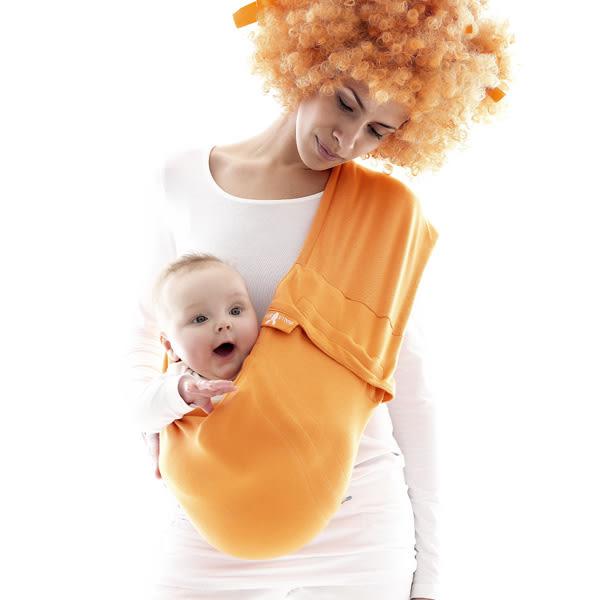 荷蘭 wallaboo Sling 酷媽袋鼠背巾-橘色