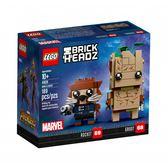 LEGO樂高 BRICK HEADZ系列 Groot & Rocket_LG41626