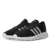Adidas LITE RACER 女款黑白色運動休閒鞋-NO.FW8979