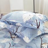 【BELLE VIE】喜鵲(雪貂法蘭絨枕套組)喜鵲-雪貂法蘭絨枕1對