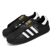 adidas 休閒鞋 Superstar Laceless 黑 白 無鞋帶 貝殼頭 男鞋 女鞋 【PUMP306】 FV3018