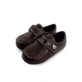雅痞流行 皮面 小紳士皮鞋《7+1童鞋》A377棕色