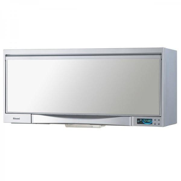 【甄禾家電】Rinnai 林內 懸掛式烘碗機 液晶顯示 RKD-182SY 80cm 臭氧殺菌 銀色 烘碗機 限送大台北