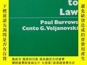 二手書博民逛書店The罕見Economic Approach to LawY13