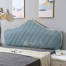 150*70 床頭套罩歐式定做弧形半圓床頭罩萬能全包靠背床頭板防塵罩【慢客生活】