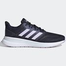 Adidas RUNFALCON 女鞋 慢跑 訓練 輕量 透氣 藍 紫【運動世界】EG8626