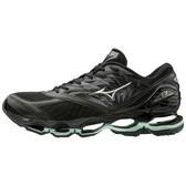 Mizuno Wave Prophecy 8 [J1GD190015] 女鞋 慢跑 運動 休閒 舒適 緩衝 彈力 黑綠