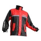 【東門城】ASTONE RA-502 兩件式運動型雨衣(黑紅)