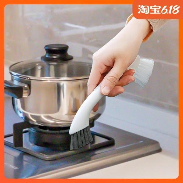 尺寸超過45公分請下宅配日本進口KOKUBO多功能廚房雙頭清潔刷洗鍋刷創意家用死角縫隙刷子