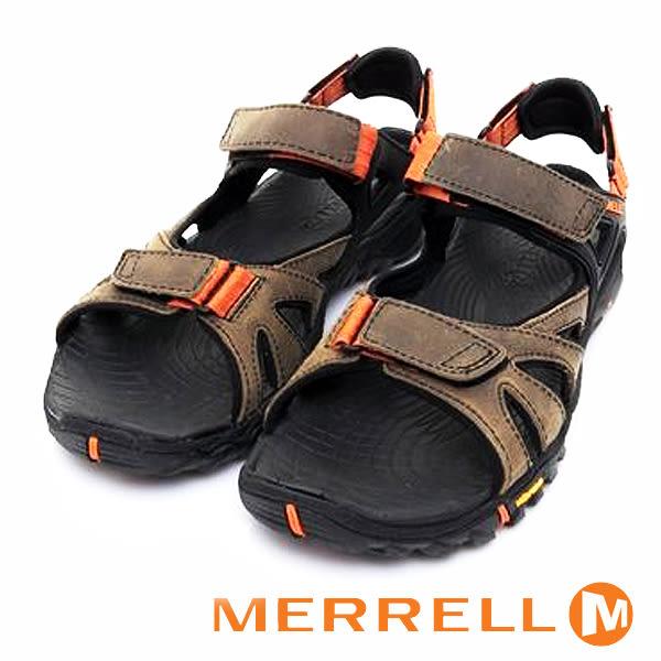 【MERRELL促銷8折】MERRELL-ALL OUT BLAZE SIEVE CONVERT男水陸兩棲鞋ML32839-咖