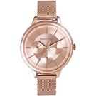 RELAX TIME 經典三眼|米蘭錶帶系列 RT-79-2 玫瑰金