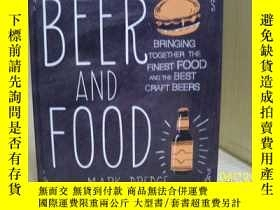 二手書博民逛書店BEER罕見AND FOOD BRINGING TOGETHER