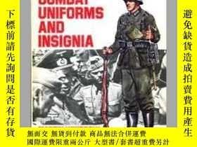 二手書博民逛書店World罕見War II Combat Uniforms and Insignia (damaged)-二戰戰鬥