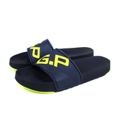 G.P 阿亮代言 拖鞋 防水 雨天 深藍色 撞色 男鞋 G0566M-20 no277