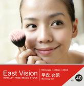 【軟體採Go網】IDEA意念圖庫 東方影像系列(40)早安 女孩★廣告設計素材最佳選擇★