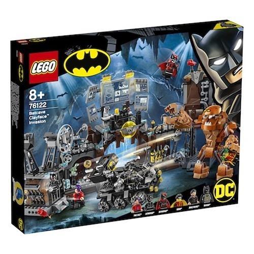 LEGO 樂高 76122 Batcave Clayface Invasion