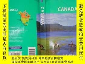 二手書博民逛書店Michelin罕見Green Guide Canada(詳見圖