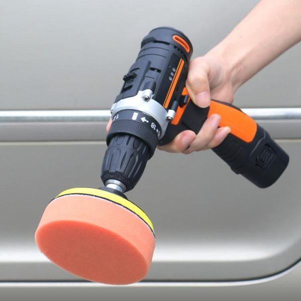 無線汽車打蠟機拋光機18V25V充電式家用去劃痕修復打蠟工具 樂活生活館