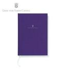 【Graf Von Faber-Castell】頂級麻布筆記本A5 藍紫色 V188653  /本